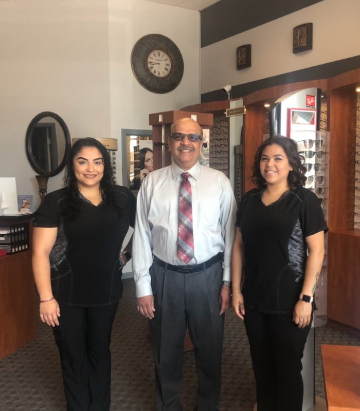 Maxivision Eye Care Staff